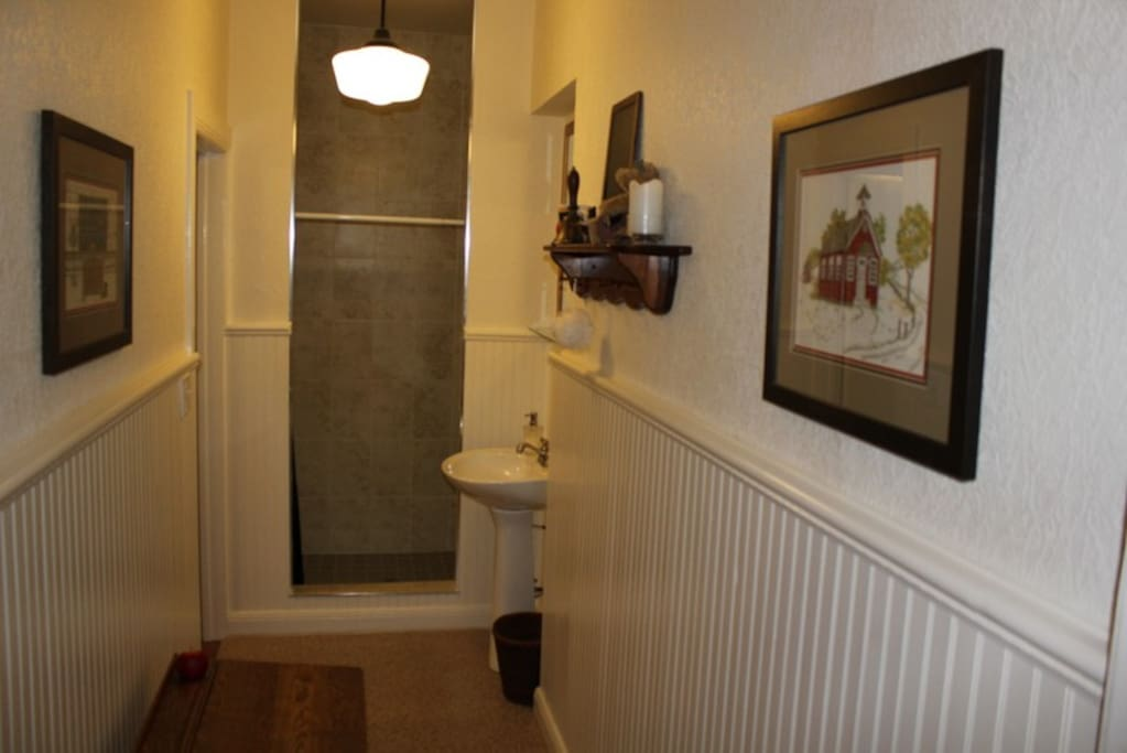 Ensuite Bathroom for School House Room