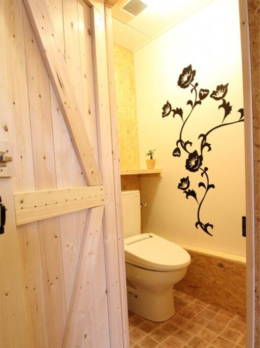 It is a clean toilet.