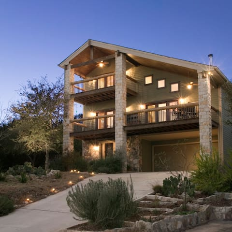 3 Story House Over Lake Austin