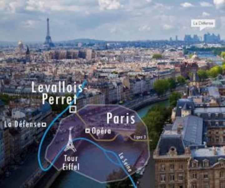 APPARTEMENT STANDING METRO & 10 MNS CENTRE PARIS