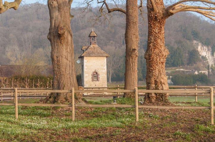 château de la Ronce renoir - Caumont - Kasteel
