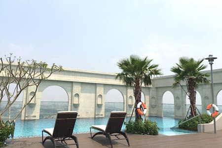 Deluxe Riverside Room_Rooftop Swimming & Gym - Ho-Chi-Minh-Stadt - Wohnung