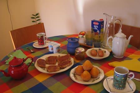 Private bath, tourist. Free park - Saragossa - Bed & Breakfast