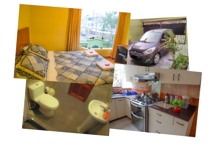 More than 1 bedroom and full bathroom, much more..