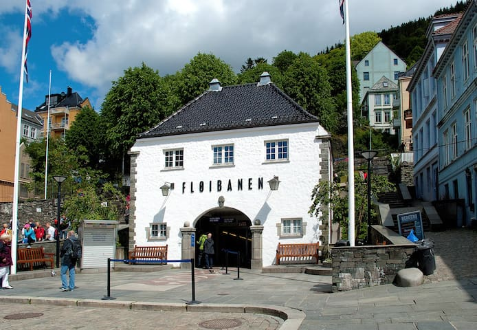 Greate location in the heart of Bergen by Bryggen