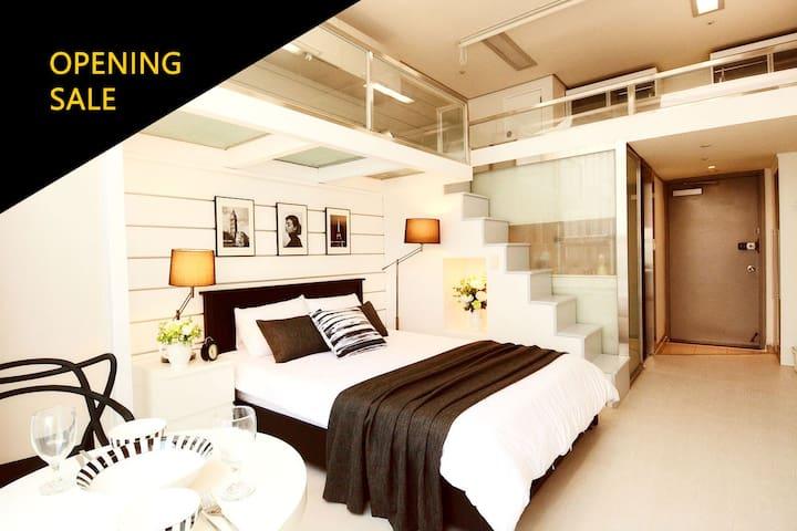 [Myeong-dong] Modern Duplex - Jongno-gu - Apartamento