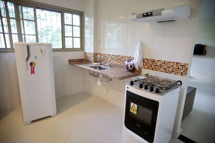 Apartamento confortável no ESPAÇP MB- sub solo Rio