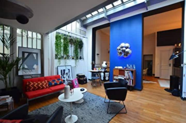 Amazing Loft in the heart of Marais !
