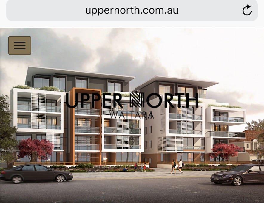 """""""Upper North"""" Apartment Website  UpperNorth.com.au"""
