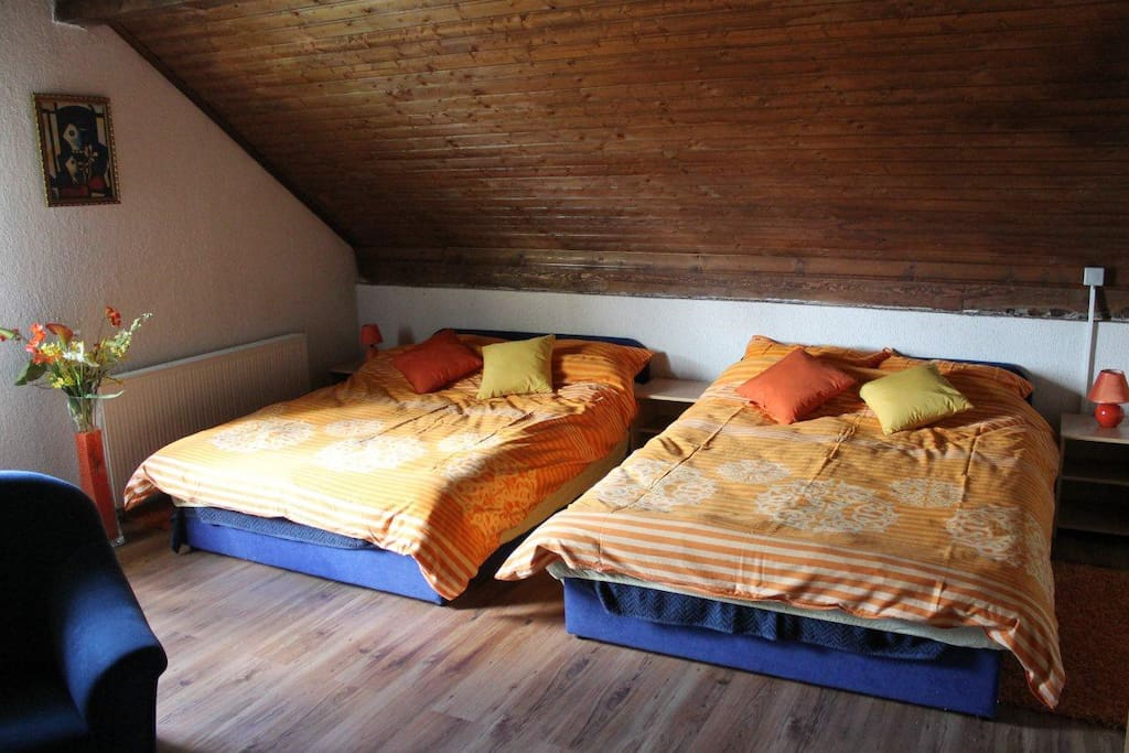 two double bed