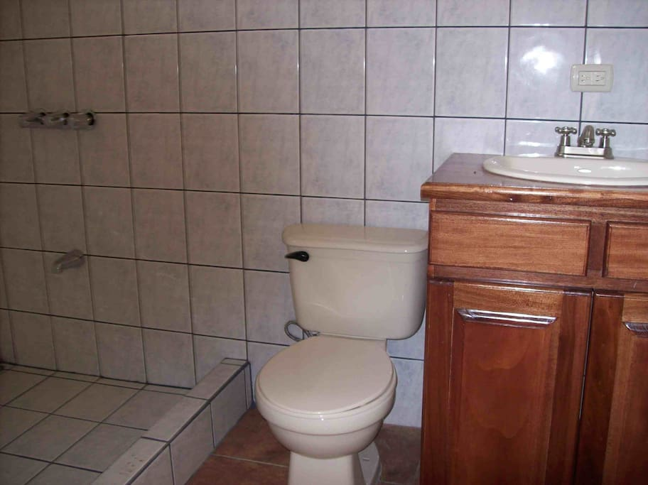 Example of bathroom for 1st and 2nd floors