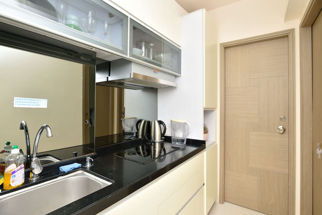 shared Area, Kitchen