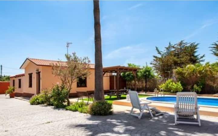 Casa Rural a 15 min de la Playa  de la Barrosa