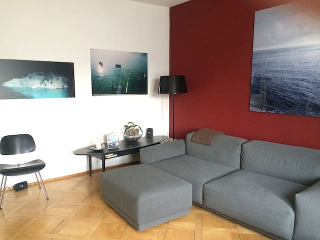Four-room flat in the lovely lakeside quarter - Zürich - Appartement
