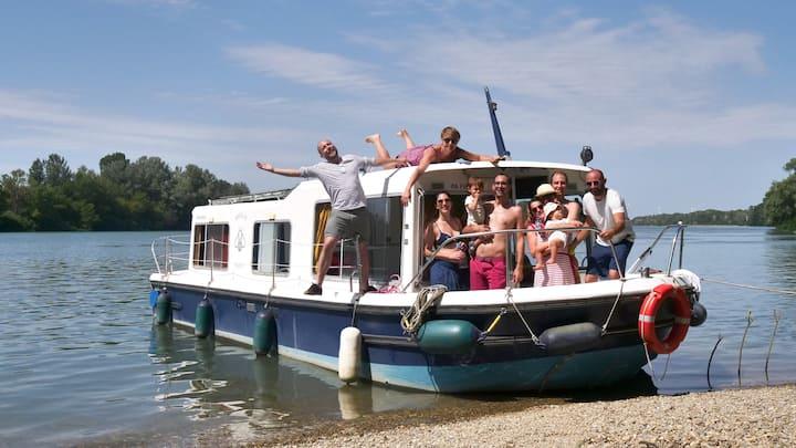 Vivre un séjour sur l'eau en Provence