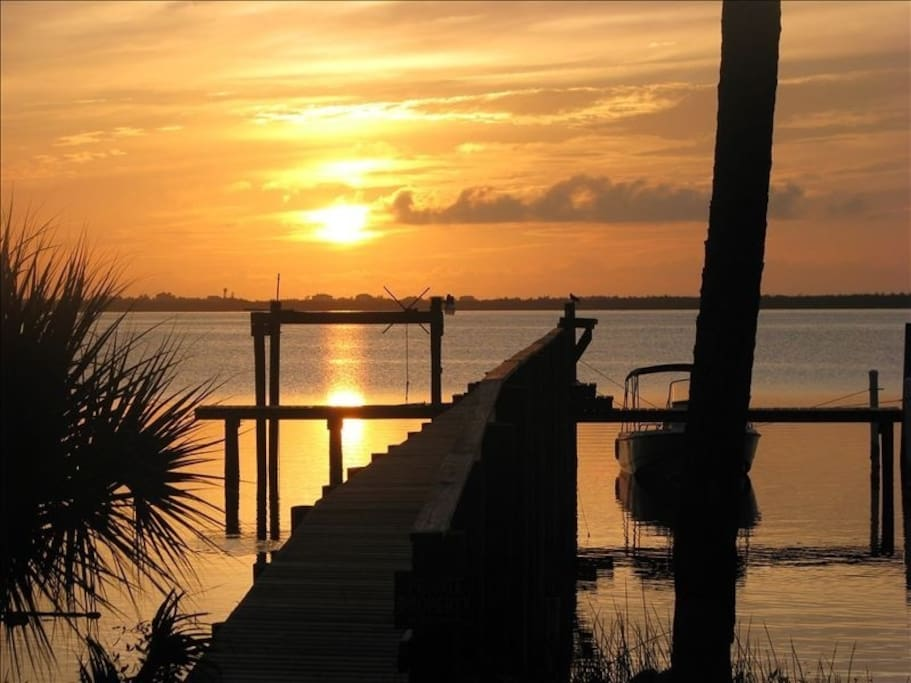 Beautiful sunrises over the Indian River Lagoon!