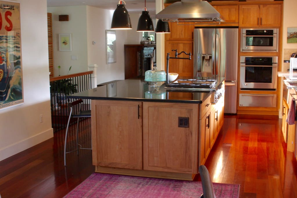 kitchen - master range, warming oven