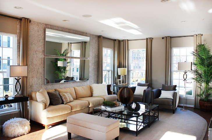 Stunning Luxury 3 BR Townhouse