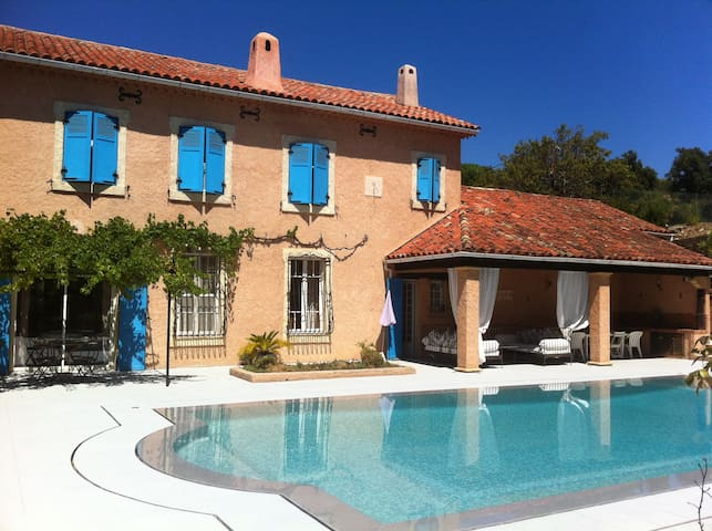 Charming house with pool and tennis - Collobrières - Дом