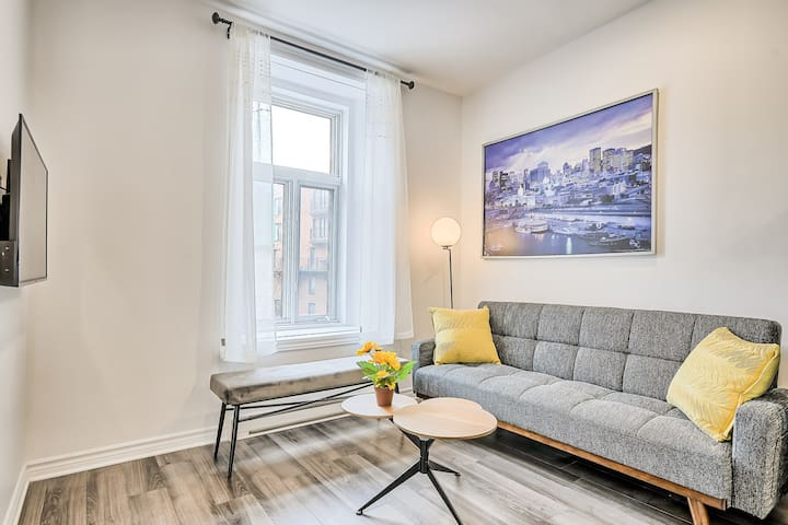 Beautiful Welcoming apartment Downtown Montreal