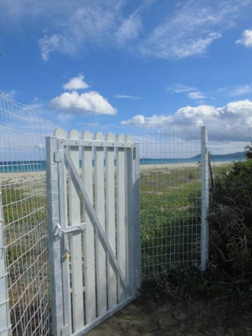 Direct access to the sea