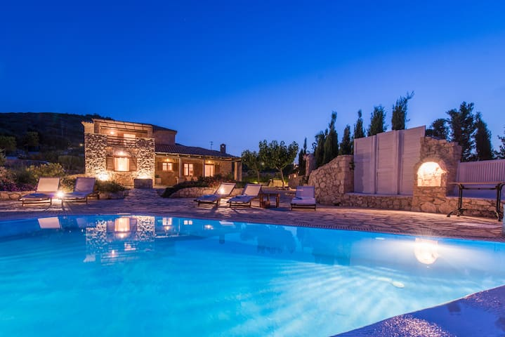 Villa Crystal with private pool - Volimes - Villa