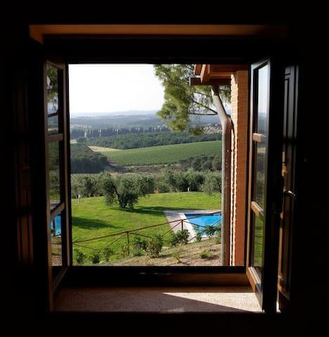 Apartment, vineyard, pool & sea - Massa Marittima - Wohnung