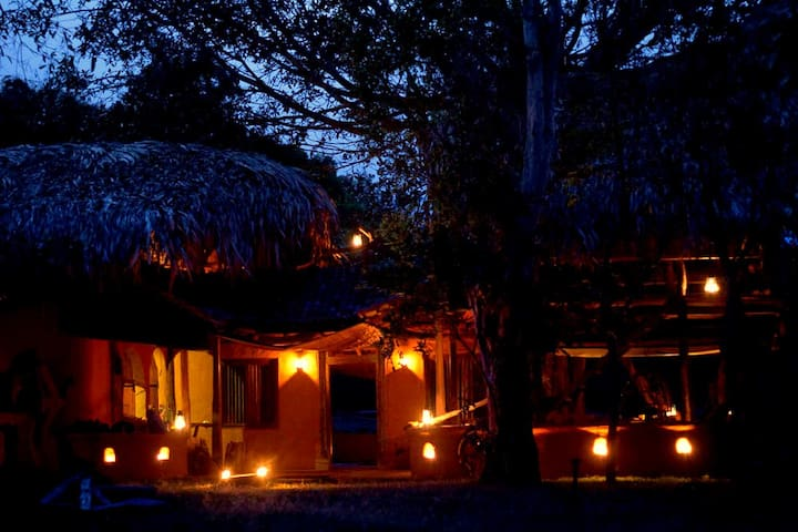Banyan Camp, Udawalawe - Moneragala - Earth House