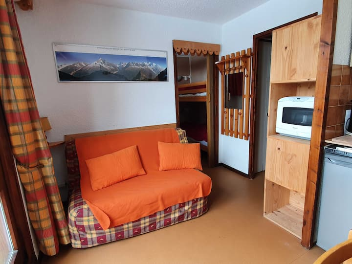 STUDIO cabine 18 m²  CENTRE STATION