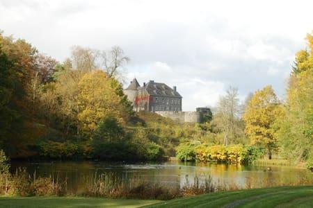 La magie d'un chateau médiéval