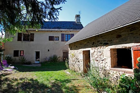 Stone house with garden in Correze - Reygade - Talo