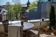 Heavenly Terrace 1 min to Market Square Park View