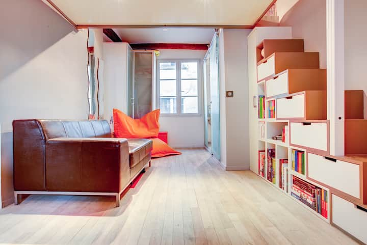 Cozy 1BD in the heart of Le Marais