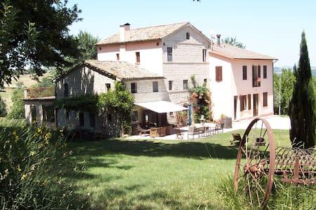 Agriturist Oliodivino B&B - nature - Monte Roberto - Lägenhet