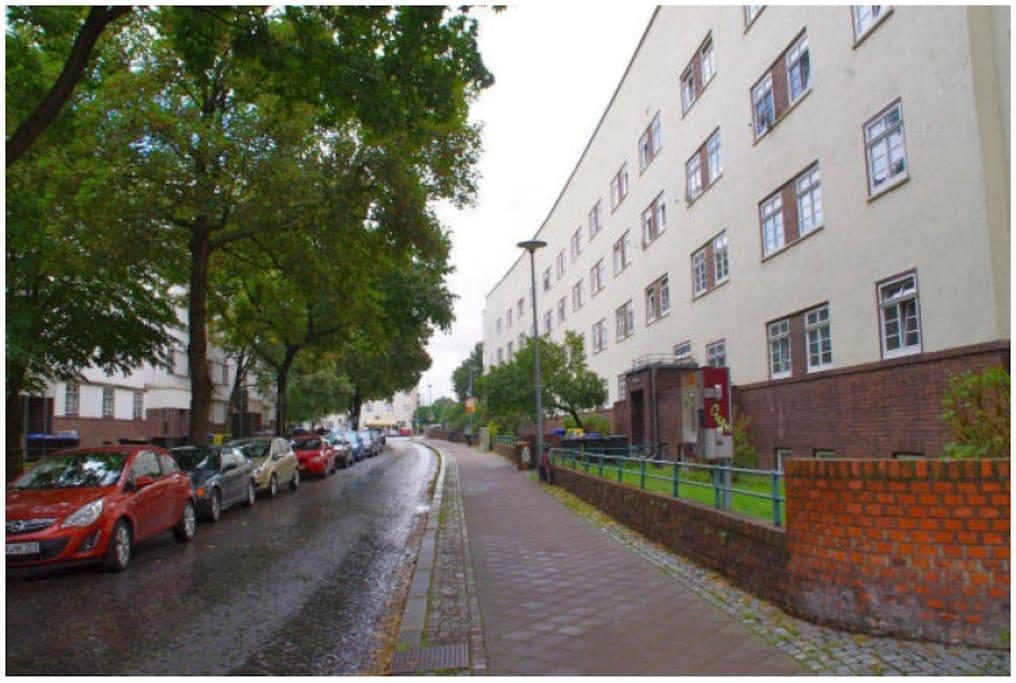 ruhige Nebenstr. mit Domblick Denkmalgeschützes Haus im Hanseviertel !!