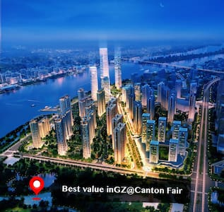 Best value in GZ RoomA@Canton Fair - Guangzhou - Apartemen