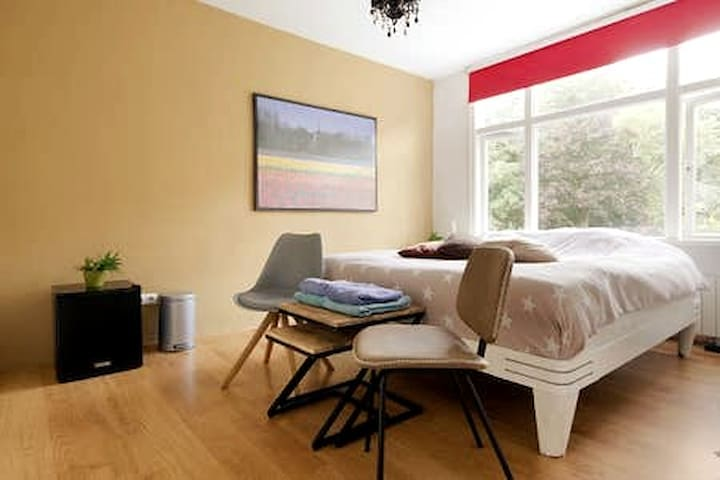 a comfortable and spacious room near Amsterdam