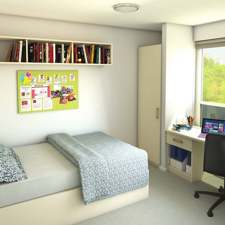 Student Only Property: Compact Standard Ensuite(Large) - LOS 12 months 10% off