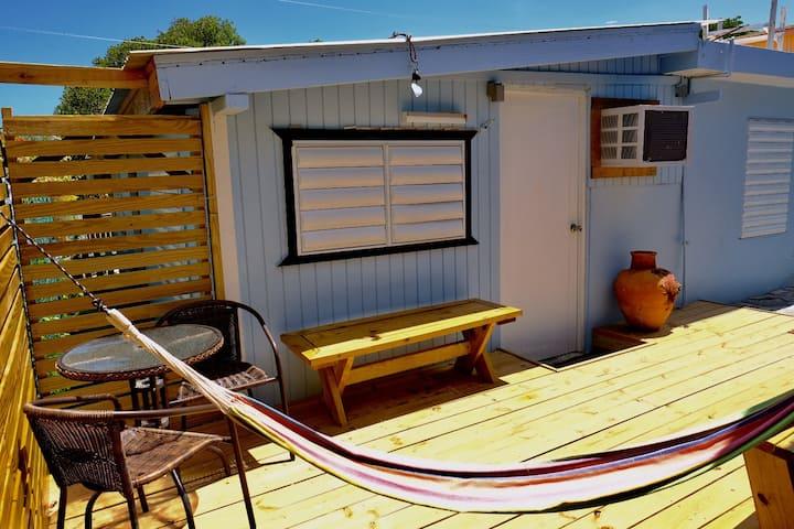 Cozy quiet studio in La Parguera close to port.