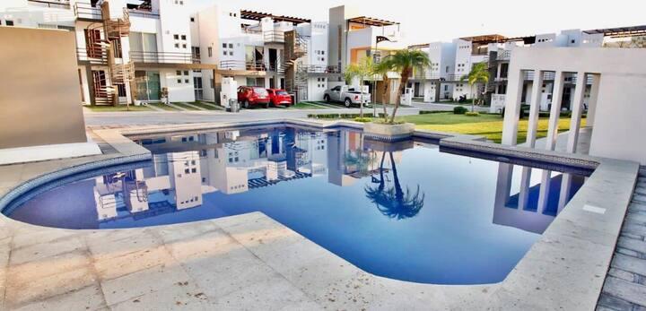 Depa con Jacuzzi y roof garden privado! ☀️💦
