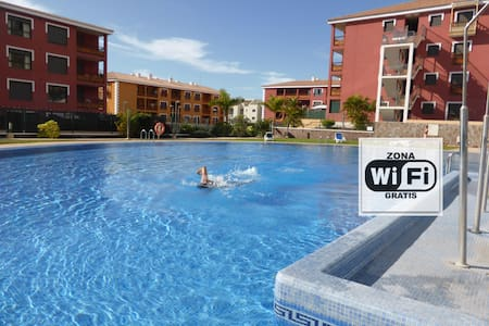 Studio with WIFI, swimming pools & parking - Palm-Mar - Apartamento