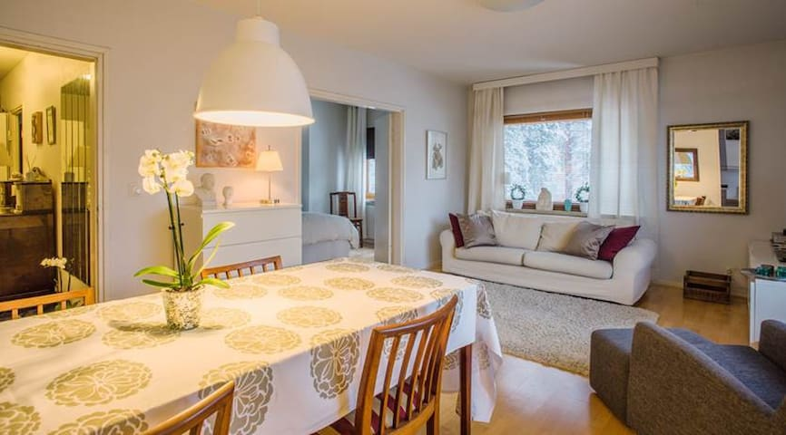 3-bedroom apartment overlooking Lahti City Centre - Lahti - Appartamento