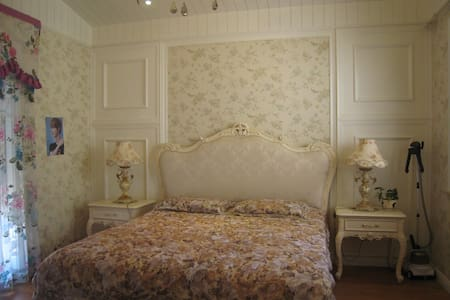 滇池之恋-联排别墅端头花园家庭影院欧式豪华大床间 - Kunming