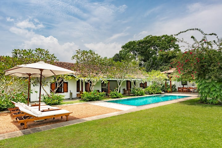 Heritage Beach Front Villa with Private Pool