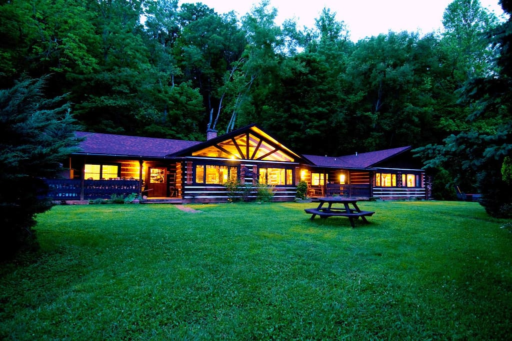 The cabin style B&B perfect for hikers or a much needed farm retreat