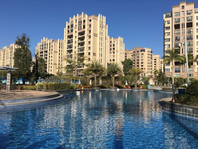 普洱公园一号高端住宅区度假养生公寓整套三室六人居 云朵朵的家 欧陆风情花园景观共享蓝天白云纯净空气