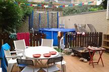 Terraza/jardin acceso desde el saolon