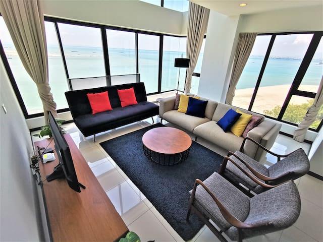 Seaview Suite @ Sunrise Gurney   2 房式全海景复式套房