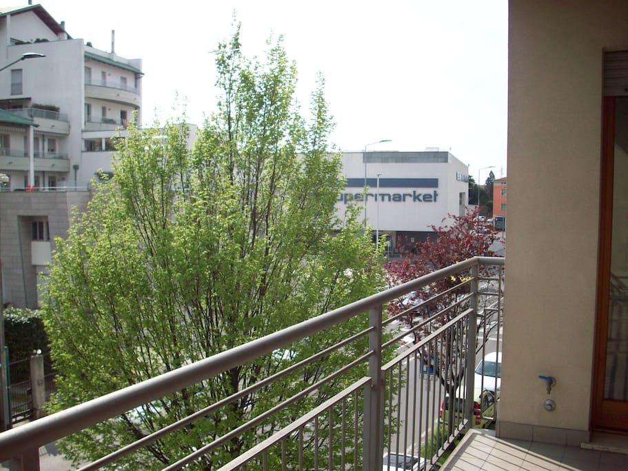 Vista esterna dalla terrazza