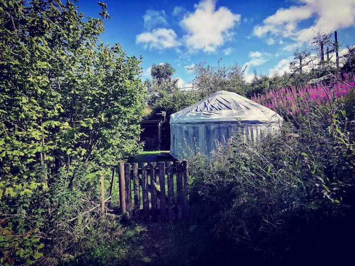 Secluded Yurt at Marthrown of Mabie